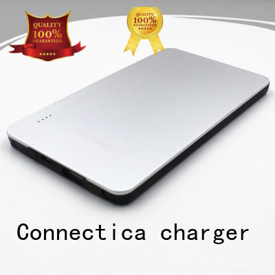 Connectica charger housing slim power bank high quality for abc and pc flame retardant