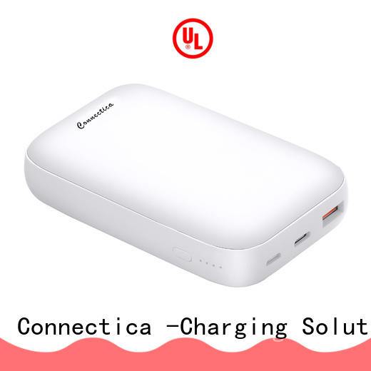 Connectica magnetic power bank 10400mah company for travelling