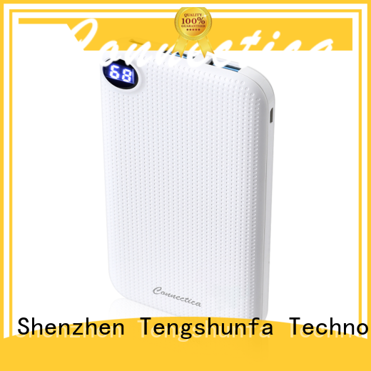 Connectica mfi power bank 10000 with pd and qc for mobile phone