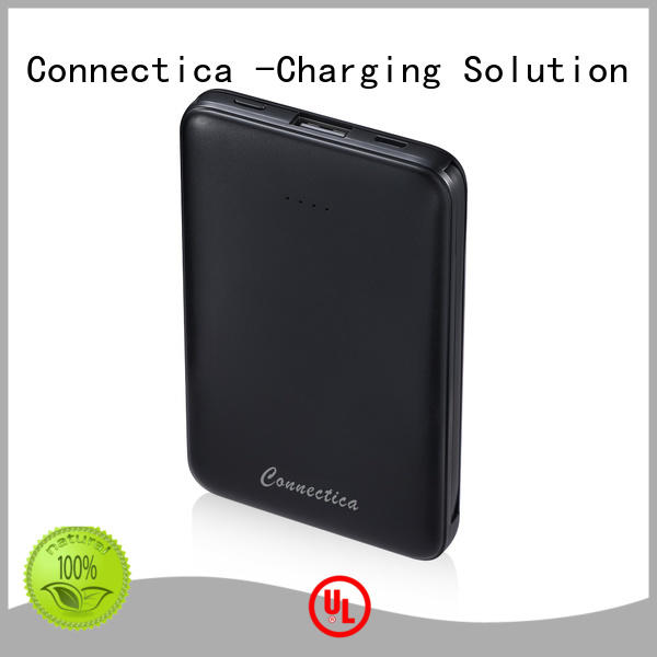 Connectica excellent power bank deals with wireless charging for abc and pc flame retardant