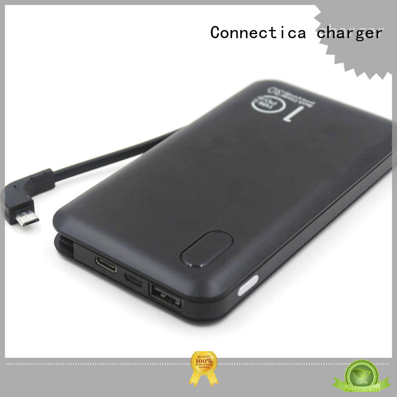 Built-in 2 in 1 Connectors Portable Charger with PD & QC 3.0 CPC-0003
