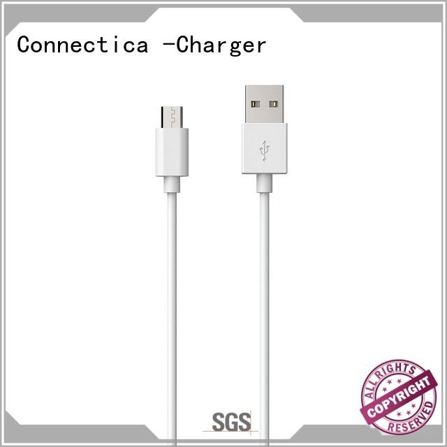 Connectica charger pvc cable usb micro usb with molding for sale