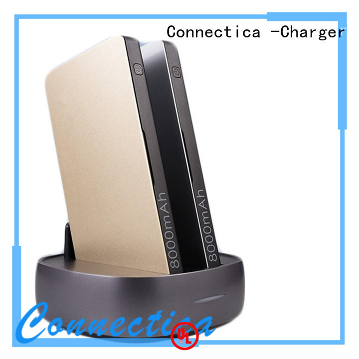 cpc cell phone power bank mfi for abc and pc flame retardant Connectica charger