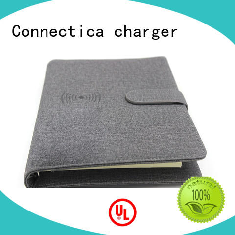Connectica charger housing power bank 15000mah with wireless charging for mobile phone