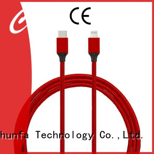 Connectica pvc best lightning cable factory