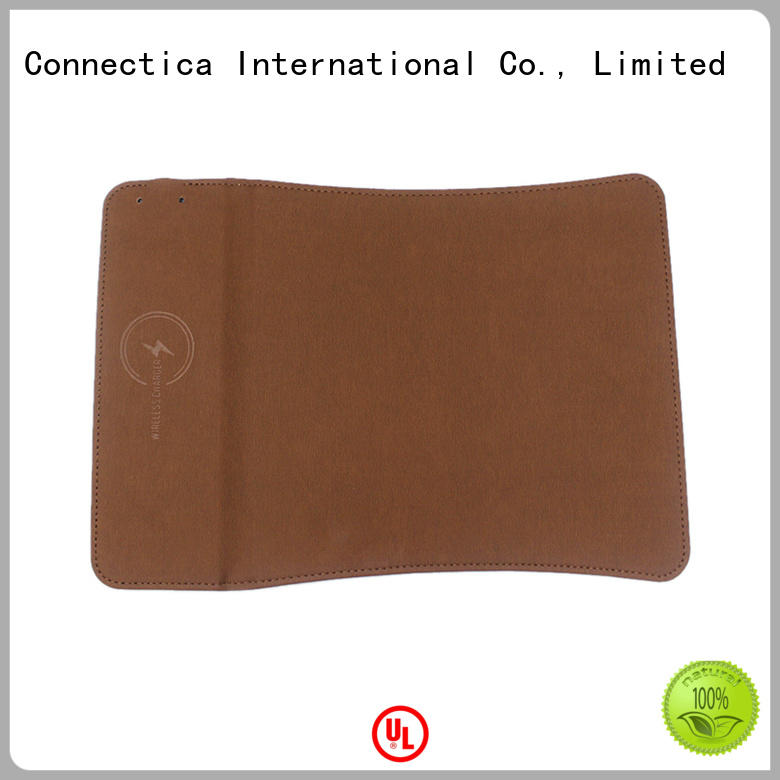 wrap portable wireless charger mousepad for sale Connectica charger