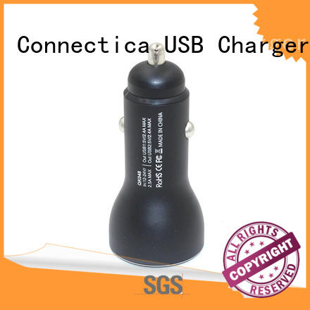 Quality Connectica charger Brand compatible car charger adapter