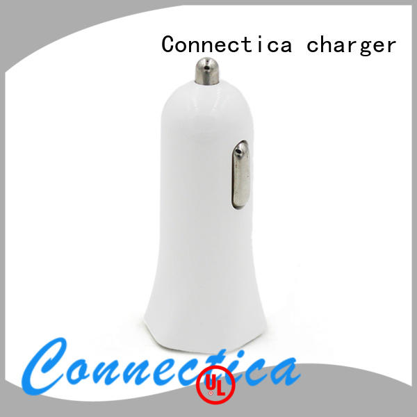ressistant car charger adapter incar Connectica charger company
