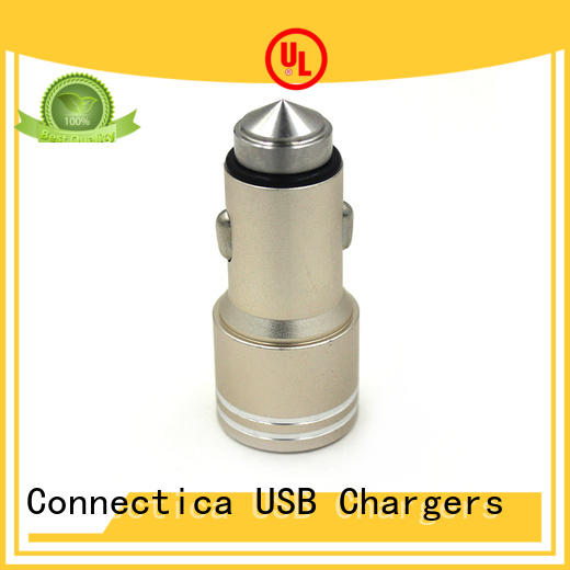 best car charger design tyre Connectica charger Brand car charger adapter