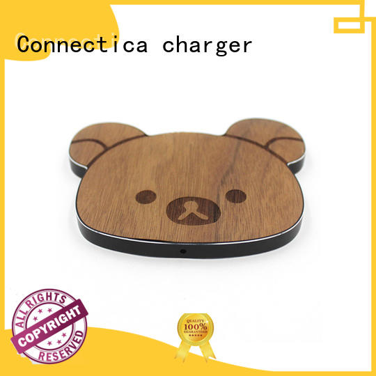 Fast Charge Wireless Charging Pad with Customize Face Plate & Shape CWC-0003
