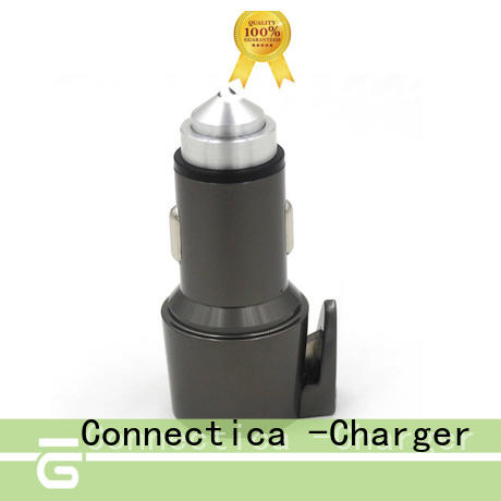 metal type c car charger compatibility car Connectica charger