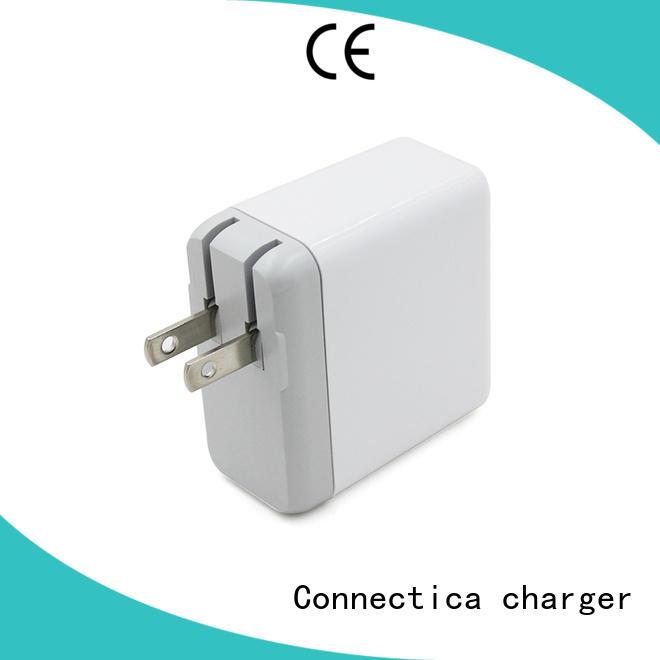 qc usb wall plug with interchangeable plug for sale