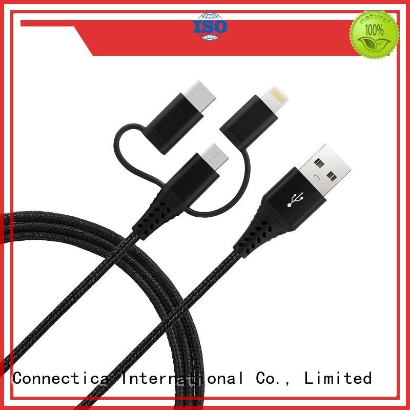 conn best micro usb cable usb a port to usb type c for the game Connectica charger