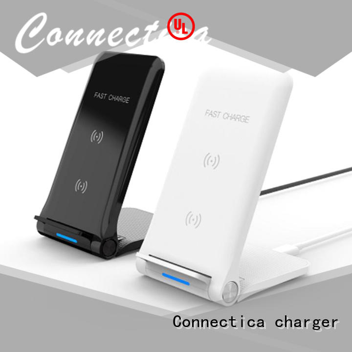 pu car Connectica charger Brand portable wireless charger factory