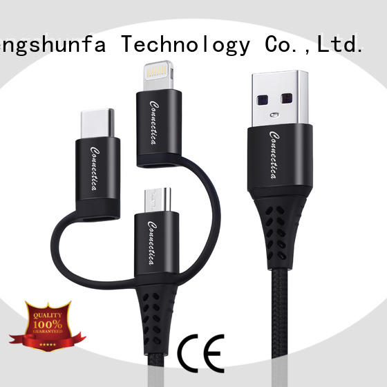 Connectica MFI usb to lightning cable company for android phone