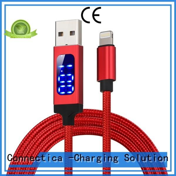 braided usb to lightning cable pvc Supply for android phone