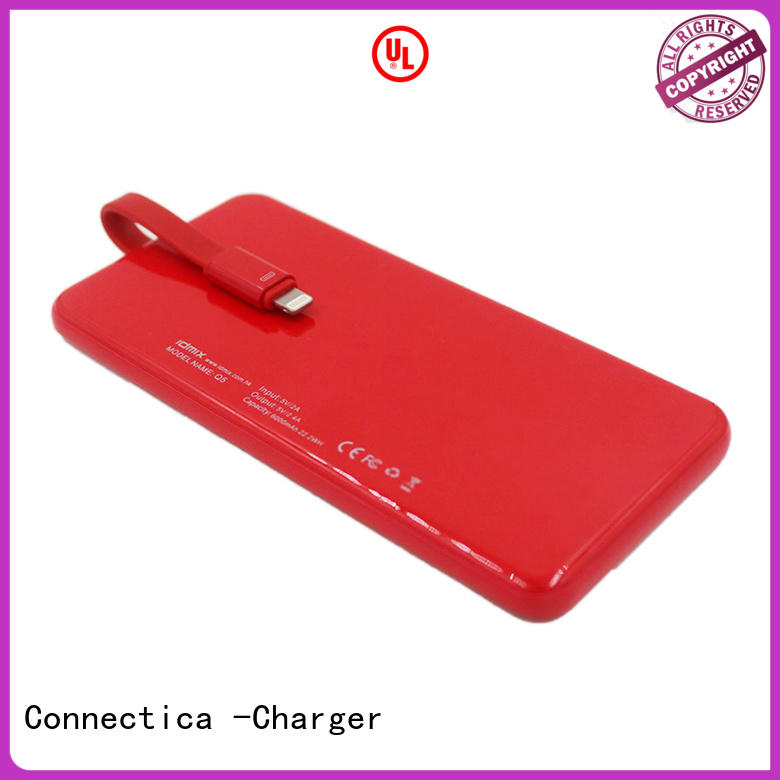 Hot portable power bank wireless Connectica charger Brand