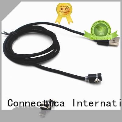 Connectica charger pet apple usb cable with magnetic lightning for sale