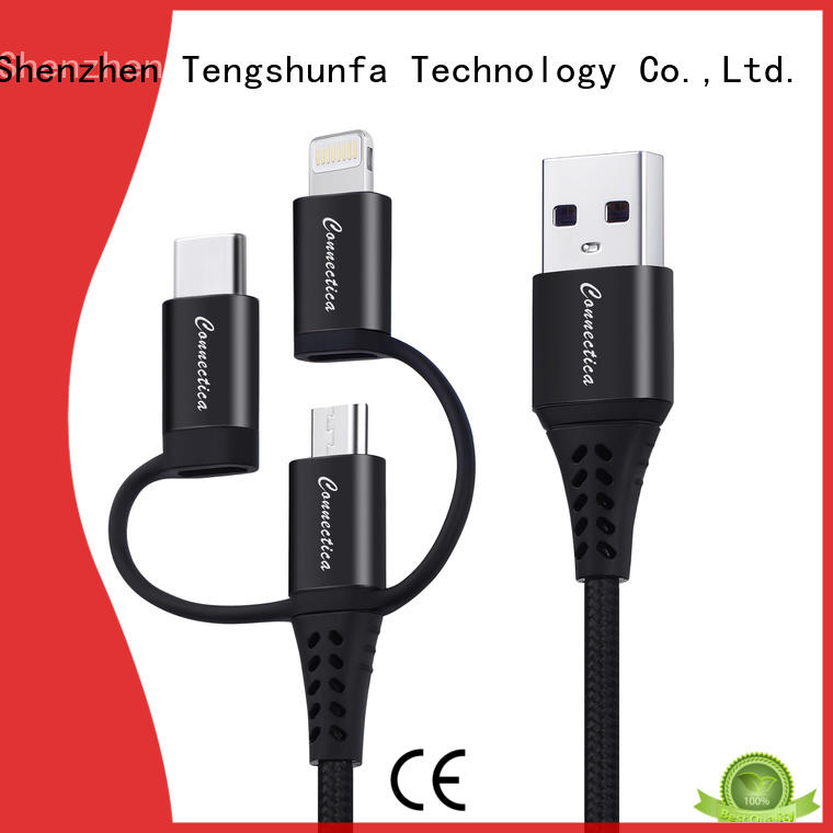 Connectica pet usb to lightning cable Supply