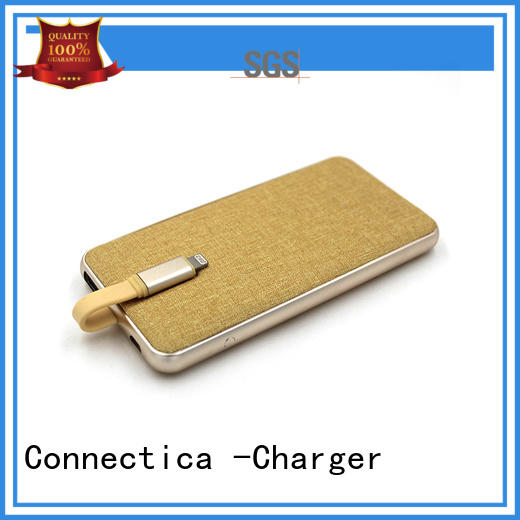 cell phone power bank excellent for travelling Connectica charger