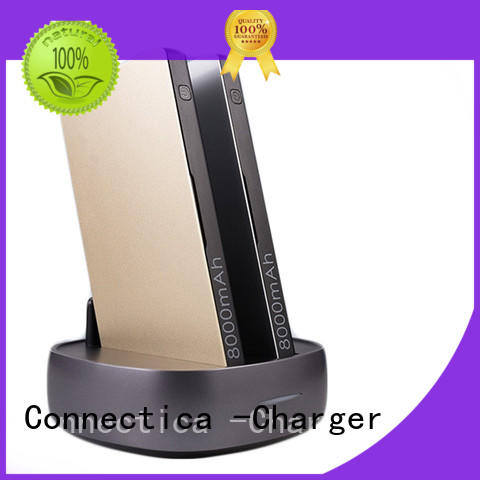 ultra power bank portable charger with wireless charging for working Connectica charger
