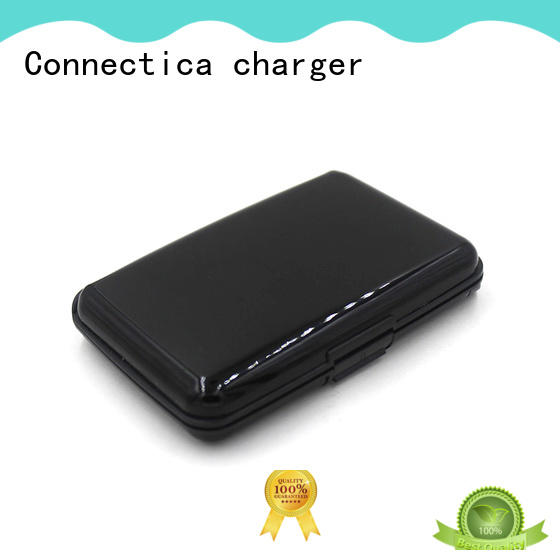 slim cell phone power bank with wireless charging for abc and pc flame retardant
