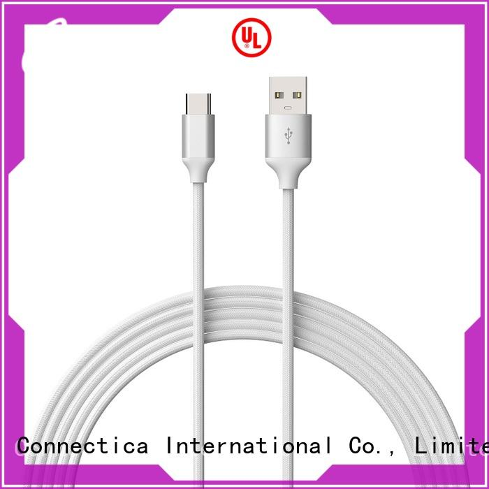 mfi charging cable with molding for android phone