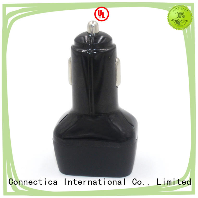Flame Resistant PC QC 3.0 + PD Compatibility Car Charger CCC-0001
