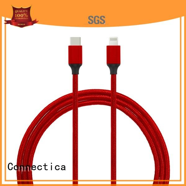 Connectica micro connector cable iphone original with magnetic lightning for the game