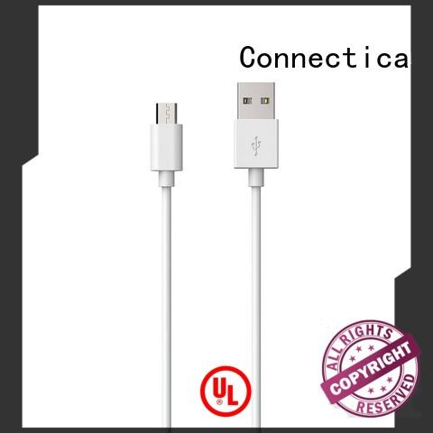 Connectica retractable usb to lightning cable manufacturer for the game