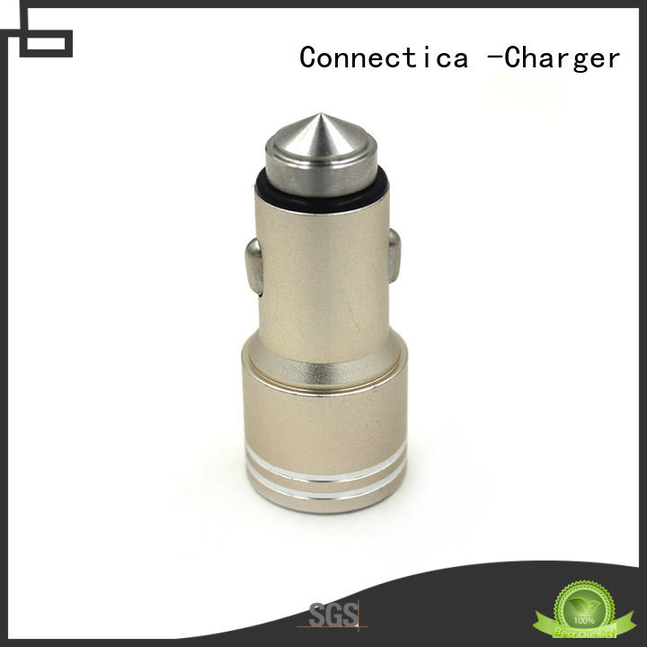 Wholesale compatibility soft car charger adapter Connectica charger Brand