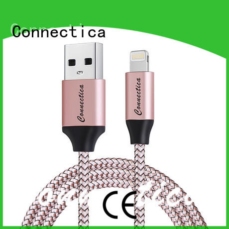Connectica pet type c to lightning manufacturers for the game
