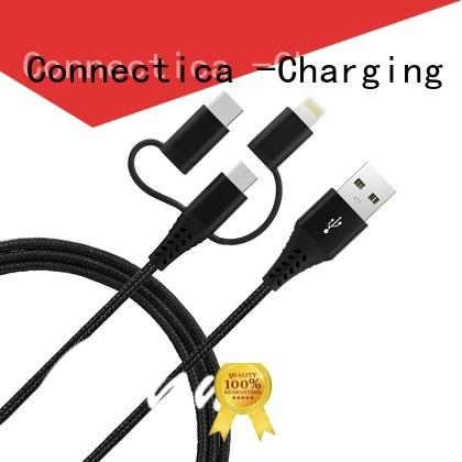 Connectica charging lightning best micro usb cable mfi