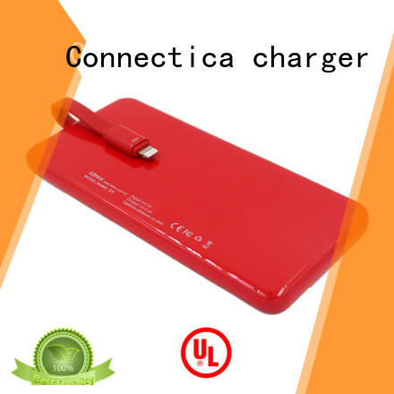 excellent cheap and best power bank mfi for mobile phone Connectica charger