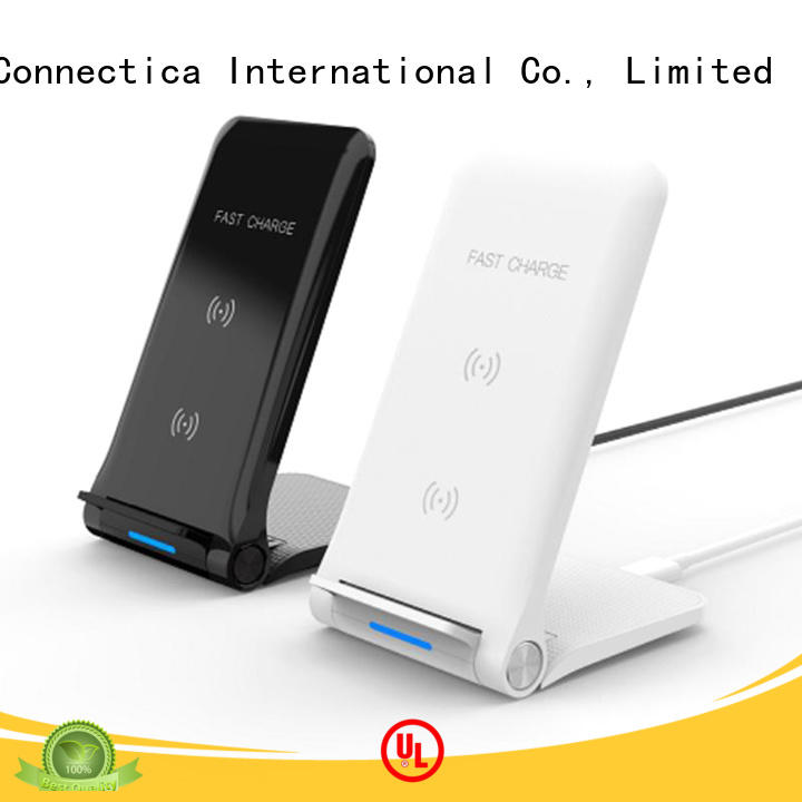 Connectica charger round portable wireless charger cwc for pc