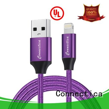 Connectica pet usb to lightning cable Suppliers for sale