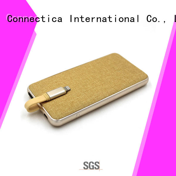 blocker card portable power bank notepad Connectica charger Brand company