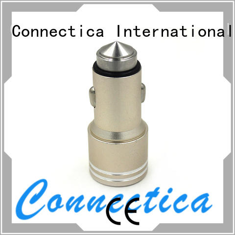 ccc ipad car charger manufacturer for mobile Connectica charger