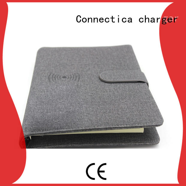 Connectica charger Power Bank Supplier with bulit in a lightning for travelling