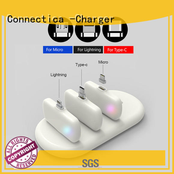 Wholesale ultra power bank manufacturer dock Connectica charger Brand