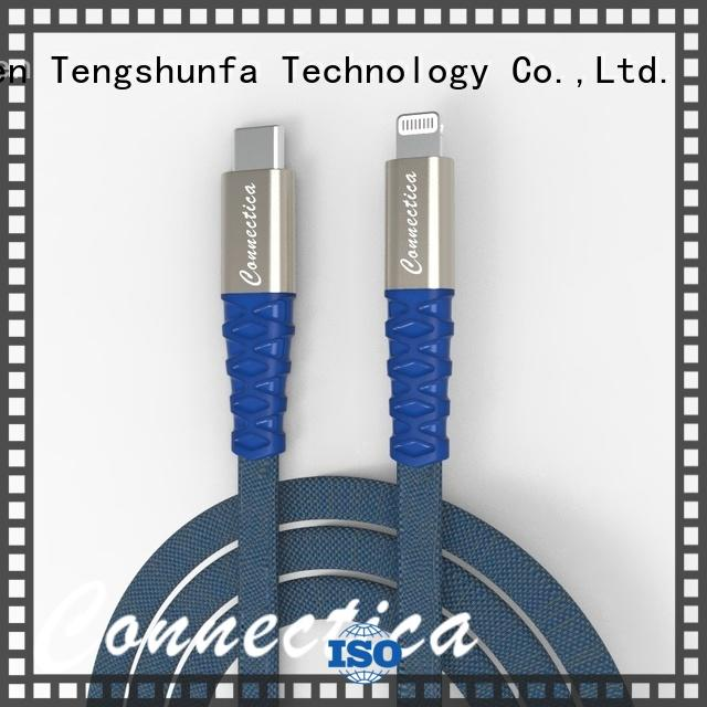 Connectica pet cable iphone original manufacturer for the game