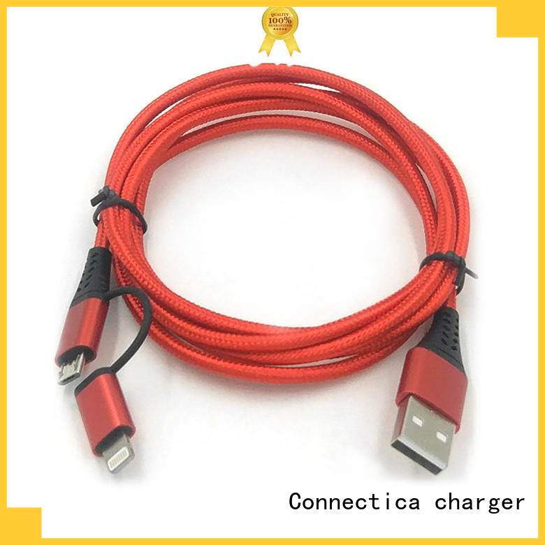 connector charging cable certified assured Connectica charger company