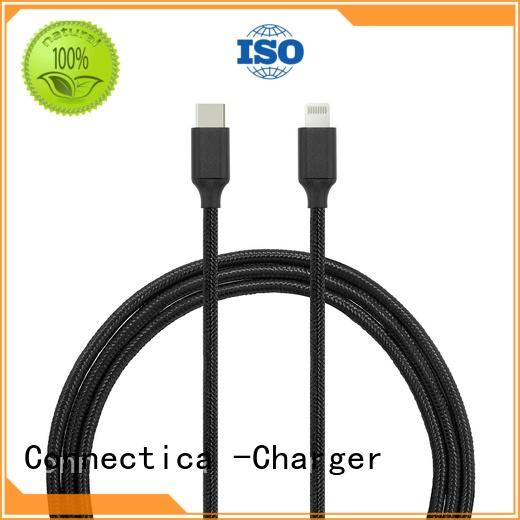 pvctpe tpe charging cable Connectica charger Brand