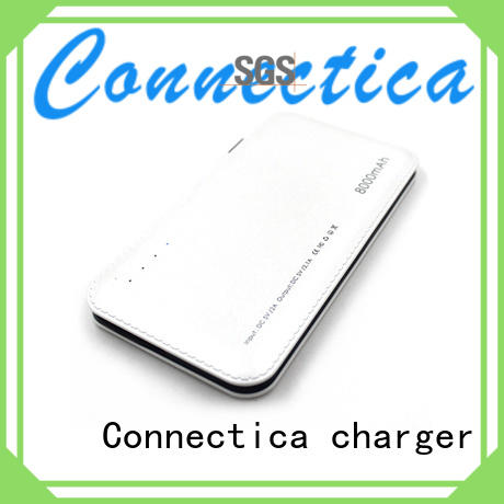 suede flame built Connectica charger Brand power bank manufacturer manufacture