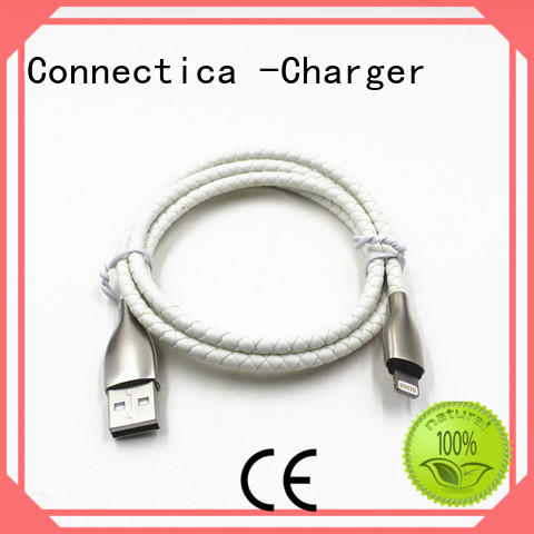 pet micro usb cord with a usb Micro connector for android phone Connectica charger