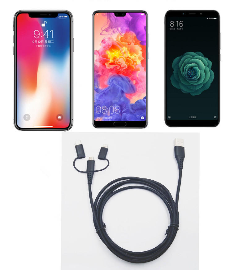 Connectica charging lightning best micro usb cable mfi-3