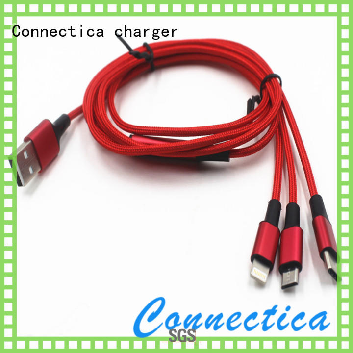 Connectica charger retractable cable usb micro usb manufacturer for sale
