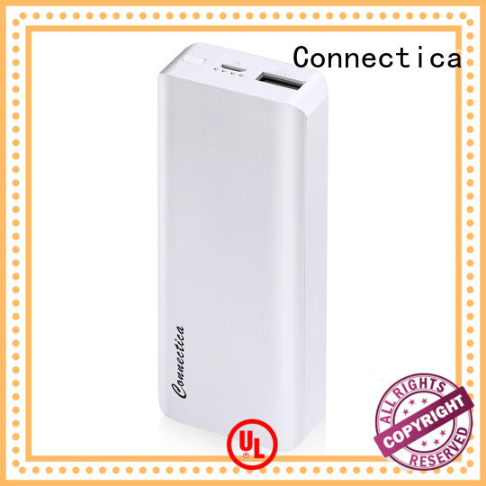 Connectica colorful custom power bank factory for mobile phone