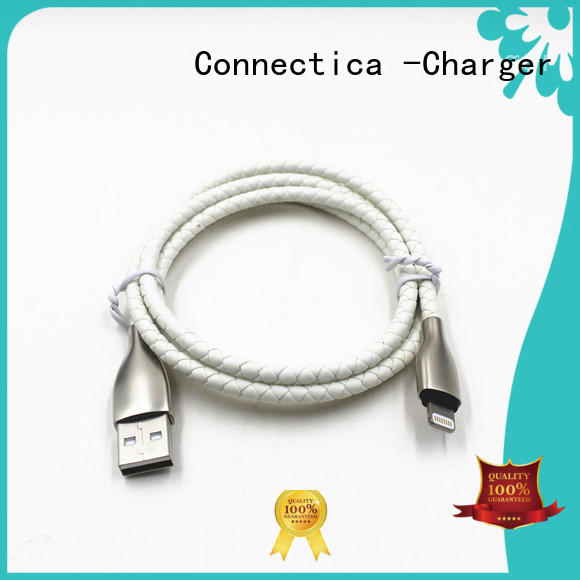 mfi usb cable pvctpe tpeabs Warranty Connectica charger