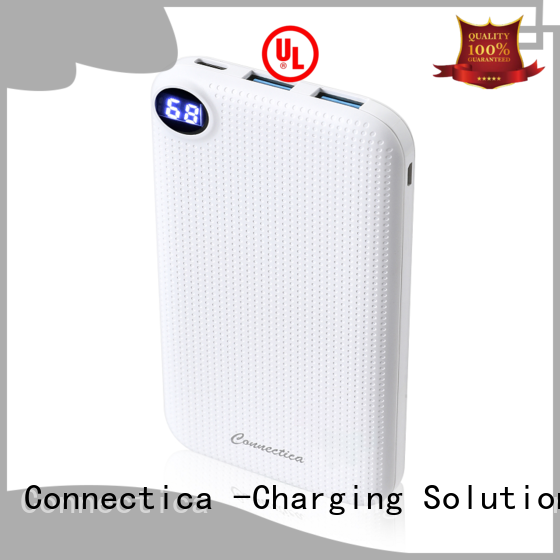 Connectica power card wallet power bank supplier Supply for working